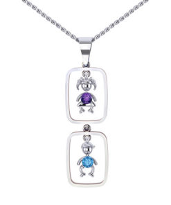 Birthstone Darlings Mothers Necklace