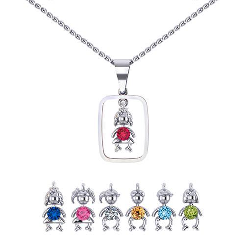 Birthstone Earrings Ideas: Birthstone Darlings Mothers Necklace