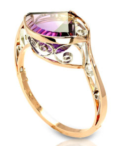 BC057-1-Ametrine Bangle Bracelet