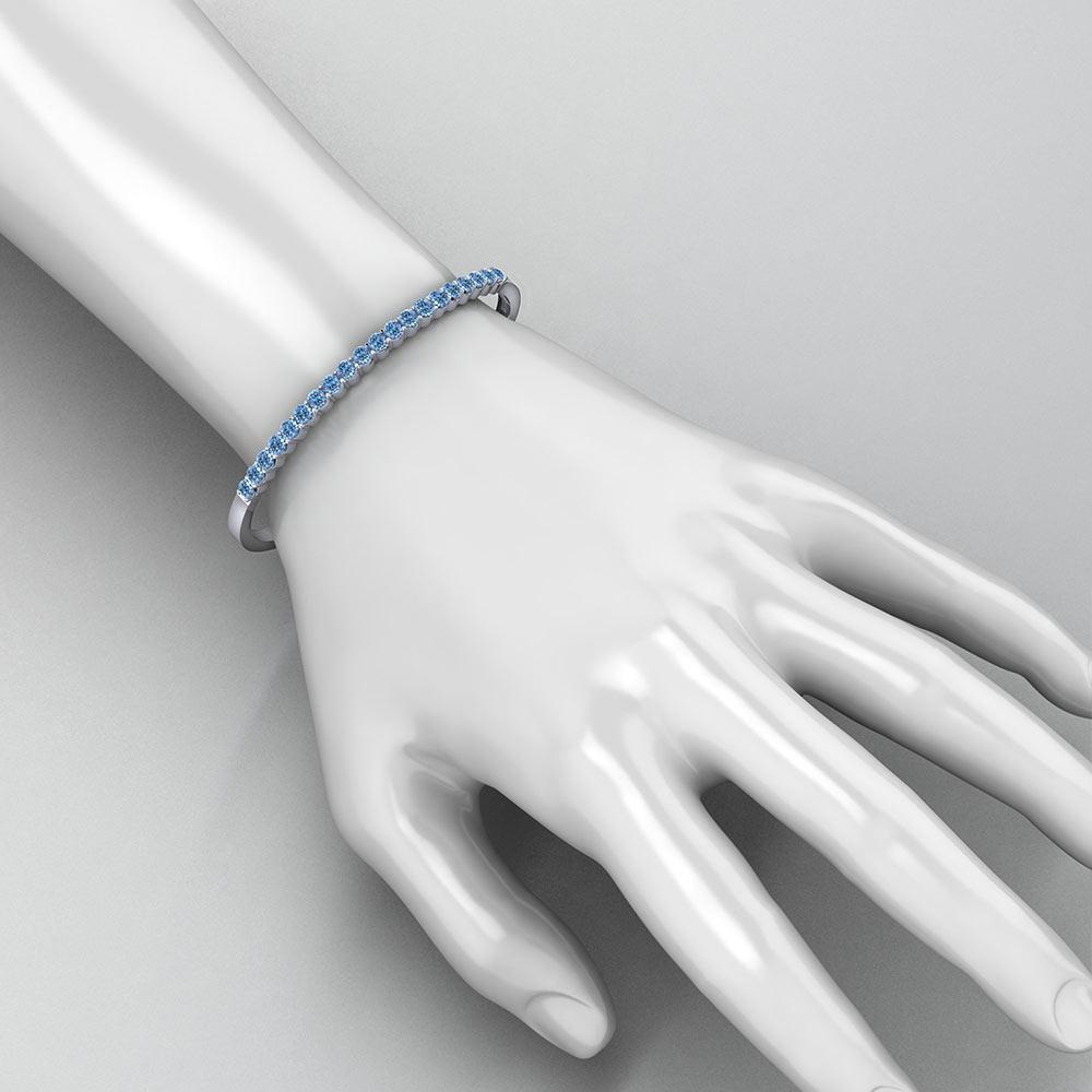 Aquamarine Bangle Bracelet Jewelry Designs