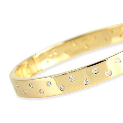 Gypsy Set Diamond Bracelet