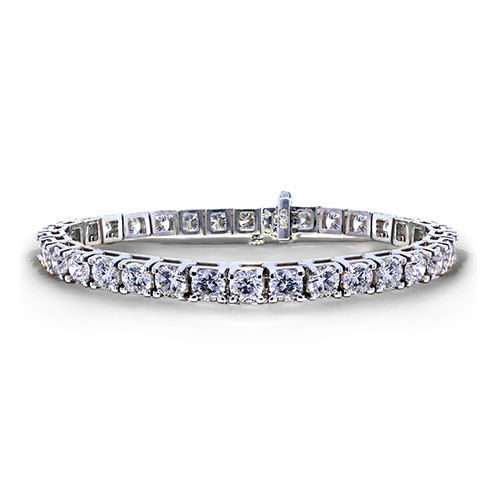 12 Carat Tennis Bracelet - Jewelry Designs