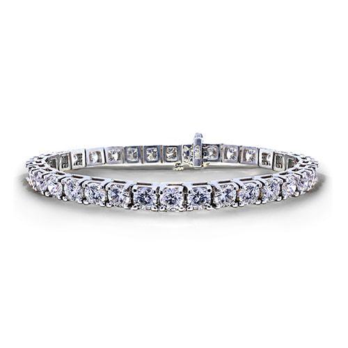 12 Carat Tennis Bracelet - Jewelry Designs