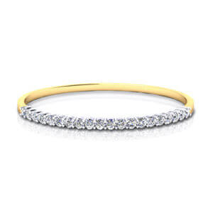 Hinged Diamond Bangle Bracelet