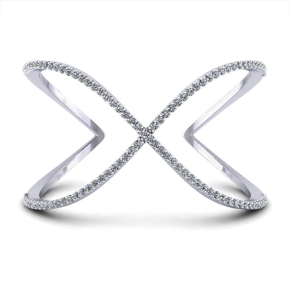 silver rack bangle bracelet bow wedding women fashion diamond bangles jewelry tie with cz clear love party product fit sterling fine dorapang