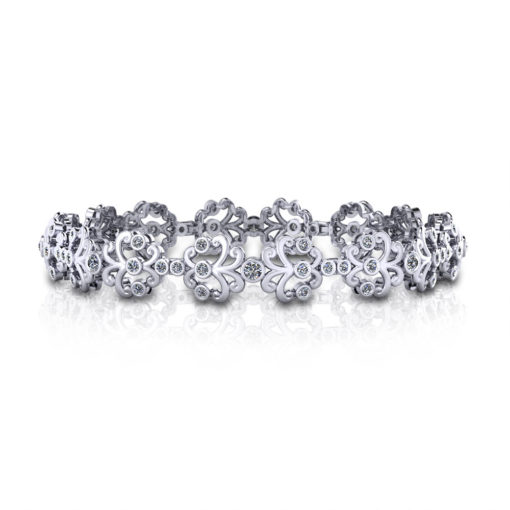 Diamond Spray Bracelet