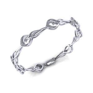 Artisan Diamond Link Bracelet
