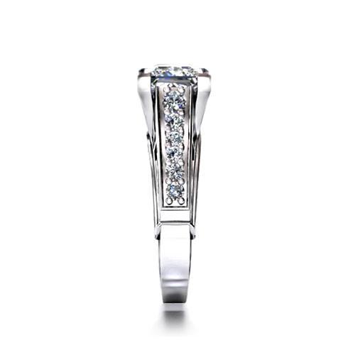 Princess Cut Engagement Rings