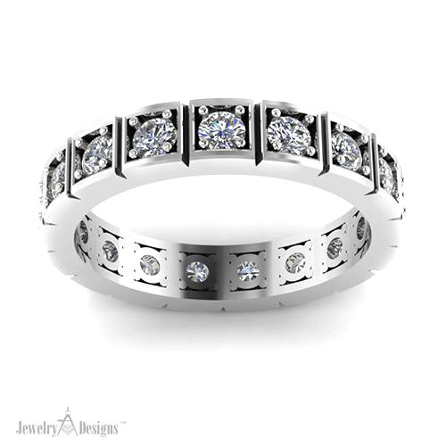 C146285 Retro Eternity Ring