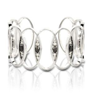 Black and White Diamond Bracelet
