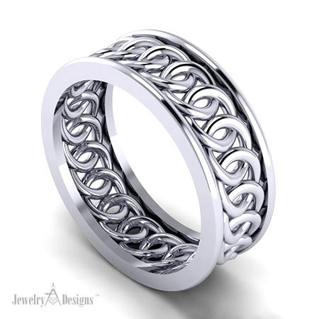 Circle Wedding Ring