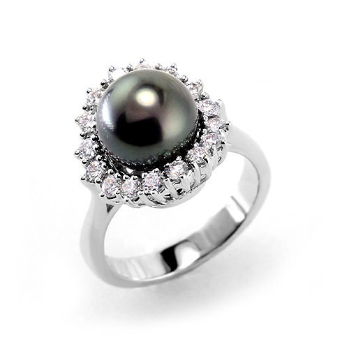 Black Pearl Rings