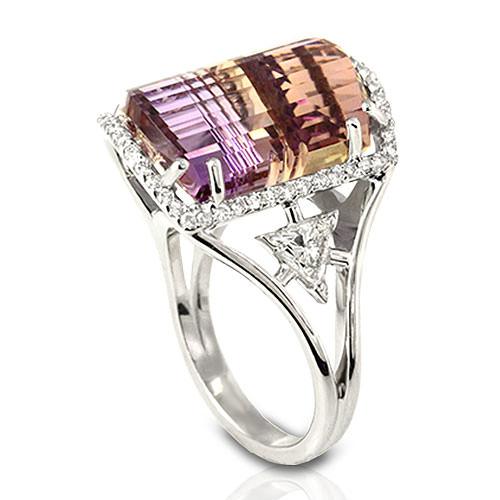 Handmade Ametrine Ring