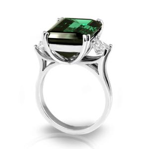 emerald-cut-green-tourmaline-ring