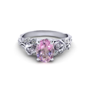 Morganite Rose Ring