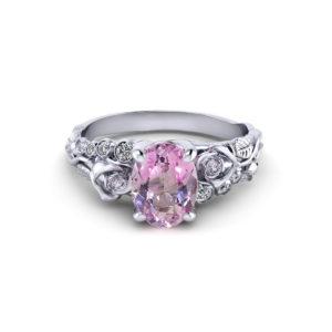 Morganite Rose Ring