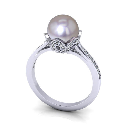 cultured pearl ring jewelry designs