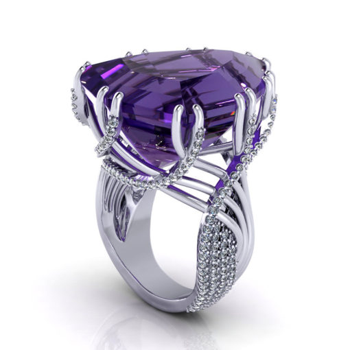 Amethyst Dream Ring