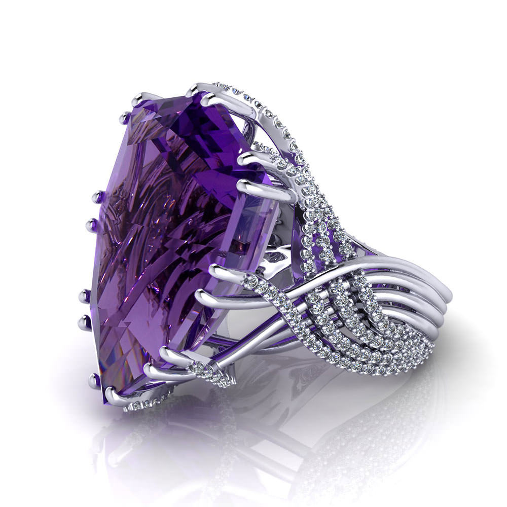 Amethyst Dream Ring