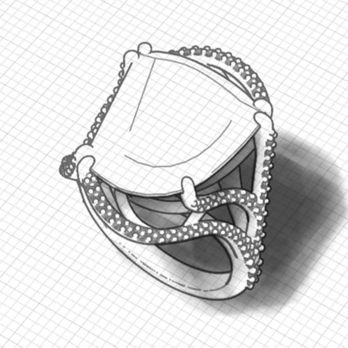 Artisan Citrine Ring