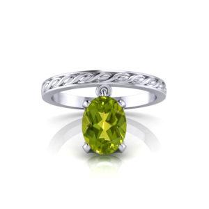 Jingling Peridot Ring
