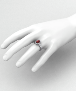 Artisan Rhodolite Garnet Ring