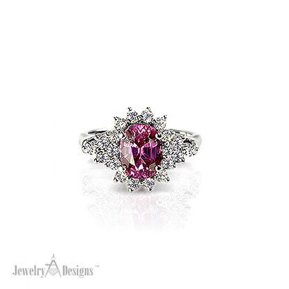Handmade Pink Sapphire Ring