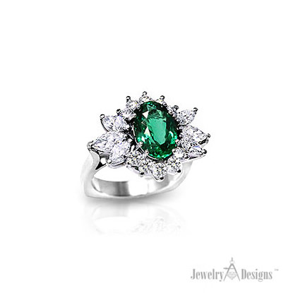 Handmade Emerald Ring