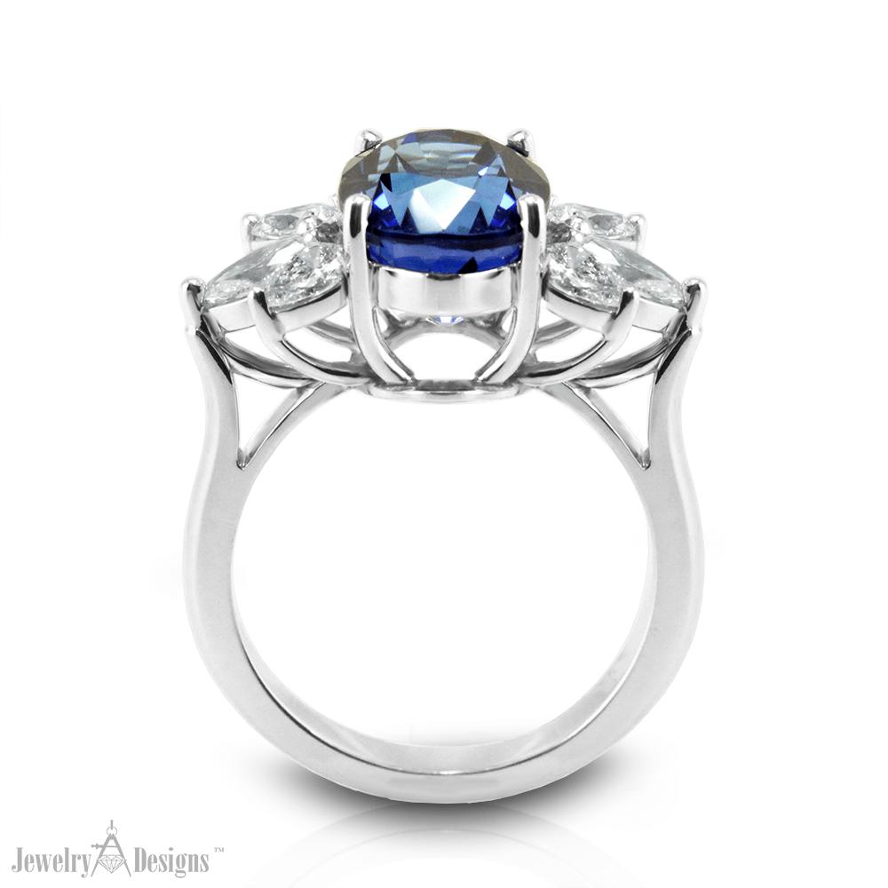 CP169-2-H Handmade Platinum Jewelry