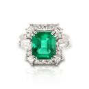 Emerald Diamond Rings