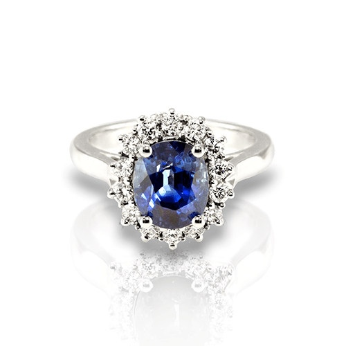 Natural Untreated Sapphire Ring