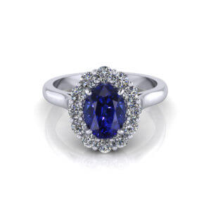 Sapphire Lady Di Ring