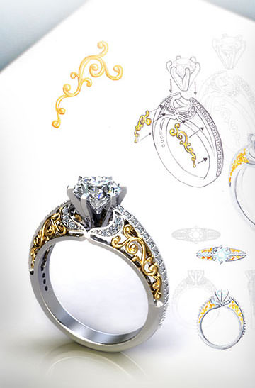 Custom Engagement Ring Design Your Own