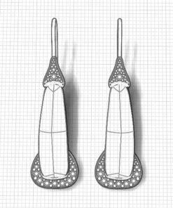 Sugilite Dangle Earrings