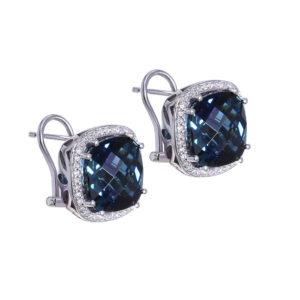 London Blue Topaz Earrings