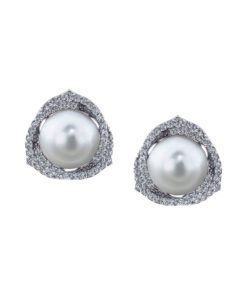 Trinity South Sea Pearl Earrings