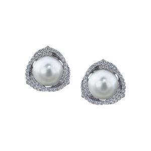 Trinity South Sea Pearl Earrings