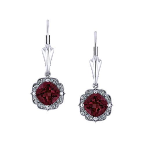 ec970-3-chevron-halo-garnet-earrings
