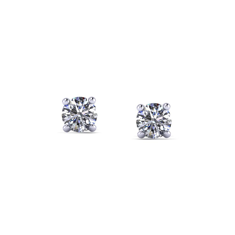 1/3 Carat Diamond Stud Earrings
