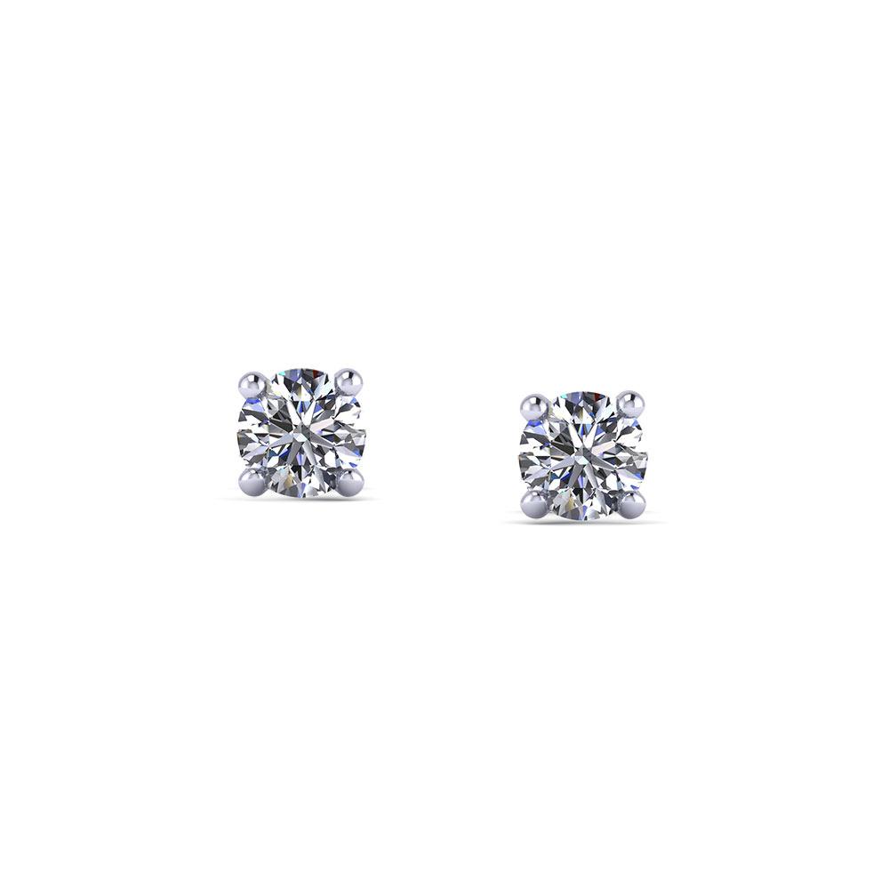 1 4 Carat Diamond Stud Earrings