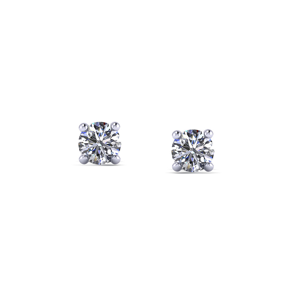 1 4 Carat Diamond Stud Earrings Jewelry Designs