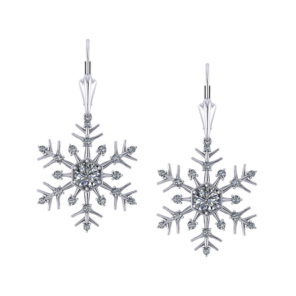 Snowflake Ring Diamond