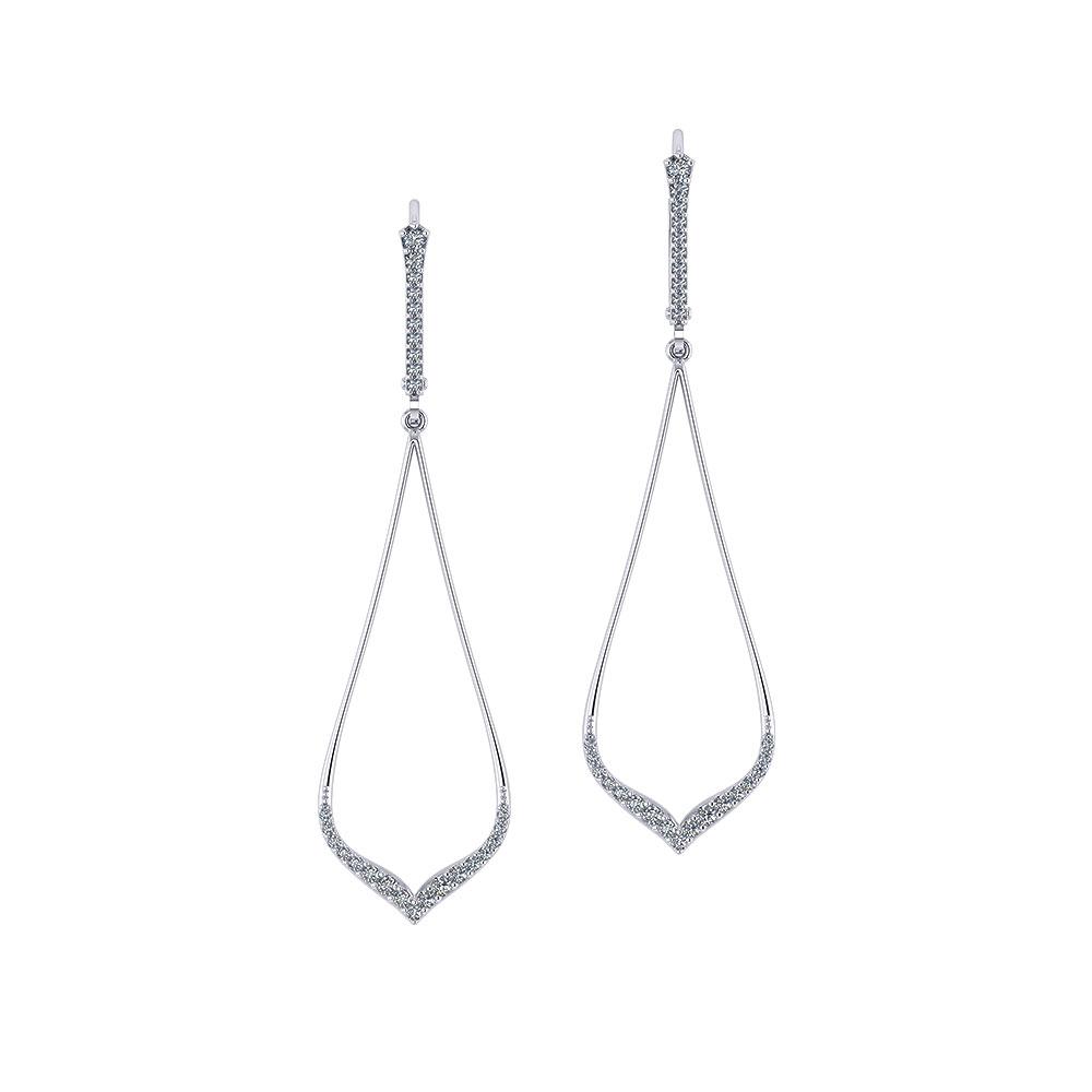343dfaaae Delicate Diamond Drop Earrings | Jewelry Designs