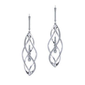 Helix Diamond Earrings