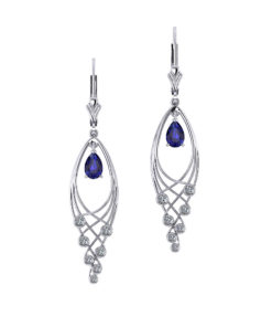 Jingle Sapphire Earrings