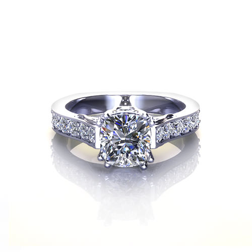 Cushion Diamond Engagement