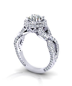 Halo Infinity Engagement Ring