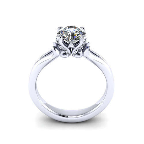 simple engagement rings jewelry designs