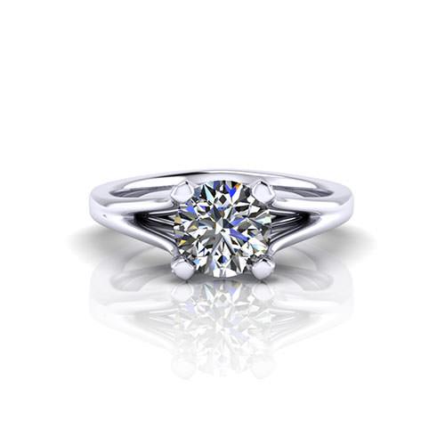 Classic Diamond Engagement Ring