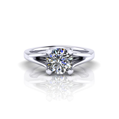 Classic Diamond Engagement Ring